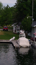 Photo: No, I do not know why there is a giant bull dog on the shore.