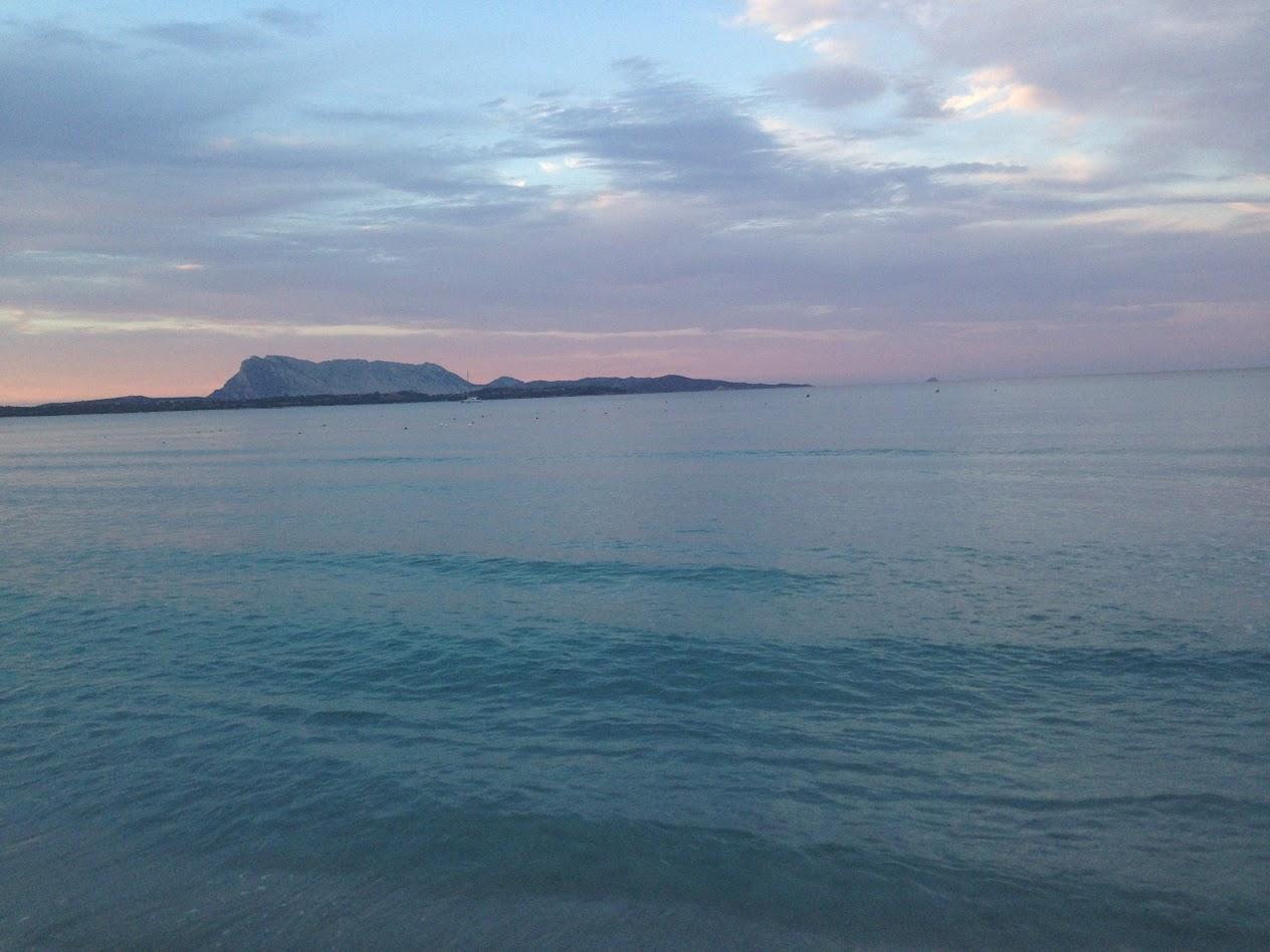 Море. Вид на о. Таволара