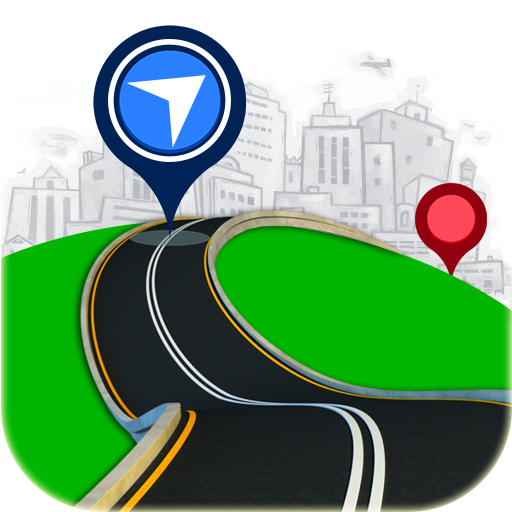 Maps, Voice GPS Navigation & Location Route Finder