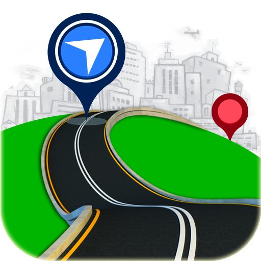 Maps, Voice GPS Navigation & Location Route Finder