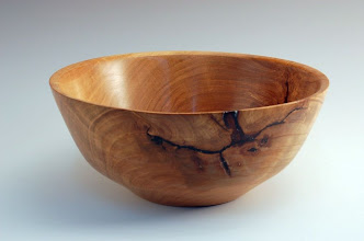 "Photo: Tim Aley - Bowl - 8 1/2"" x 3 1/2"" - Cherry"