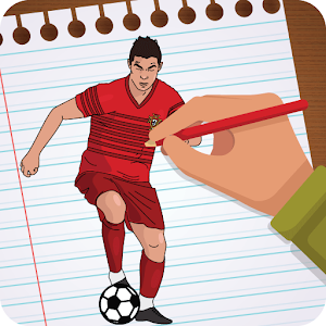 How to Draw football players 2018 soccer world cup