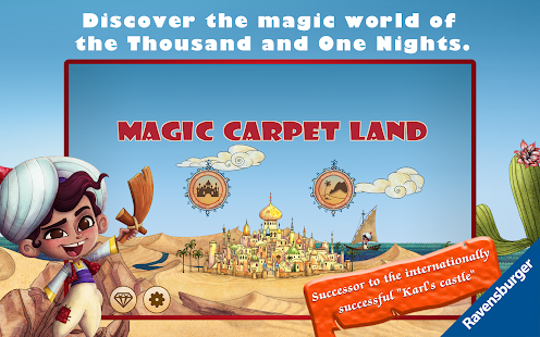 Magic Carpet Land- screenshot thumbnail