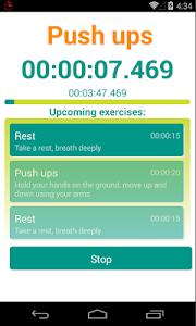 Interval Workout Timer screenshot 1