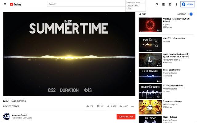 Chrome Playlist
