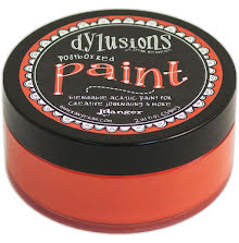 Dylusions Paint 59 ml - Postbox Red