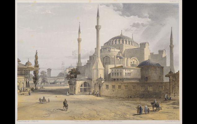 Αντίτυπο του «Aya Sofia, Constantinople»