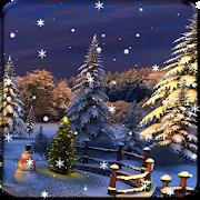 Christmas Winter Snow Live Wallpaper