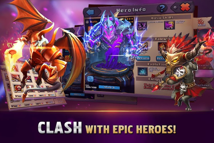 Clash of Lords: Guild Brawl 1.0.410 MOD (Unlimited Money) 4