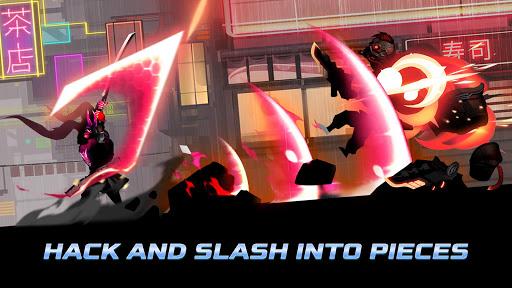 Cyber Fighters: Legends Of Shadow Battle apkpoly screenshots 3