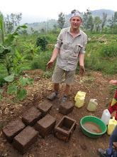 Photo: Making bricks!