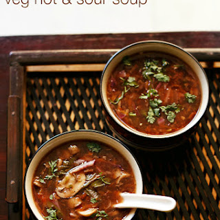Vegetable Hot And Sour Soup.