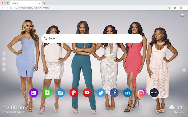 The Real Housewives Of Atlanta New Tab HD