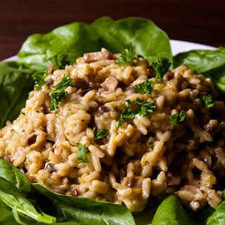 Easy Mushroom Risotto - The Simplest Vegetarian.