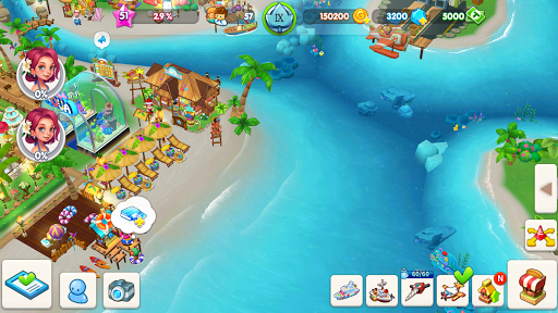 My Little Paradise : Resort Management Game android2mod screenshots 7