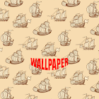 Ship Pattern Wallpapers icon