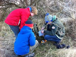 Photo: Jan. 2011: Schatzoeken in de Waterleidingduinen