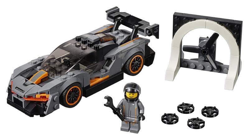 Contenido de Lego® 75892 McLaren Senna