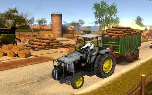 Real Farm Town Farming tractor Simulator Game 1.1.2 screenshots 8