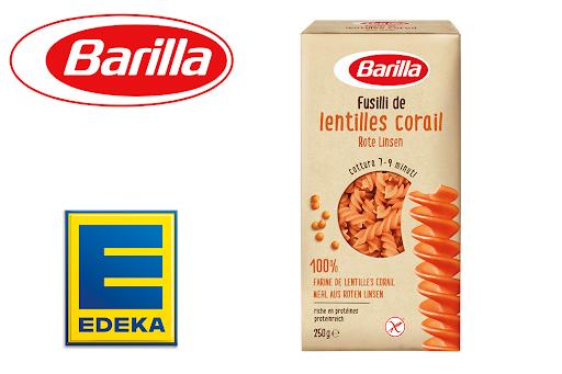 Bild für Cashback-Angebot: Barilla Fusilli aus Roten Linsen bei Edeka - Barilla