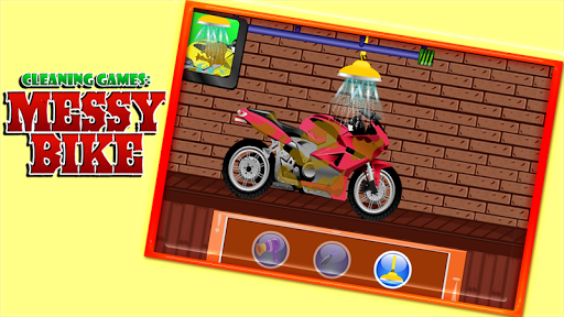 Cleaning Games : Messy Bike 1.0.0 screenshots 7