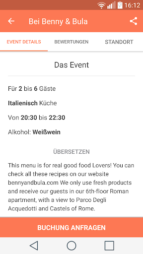 Eatwith screenshot