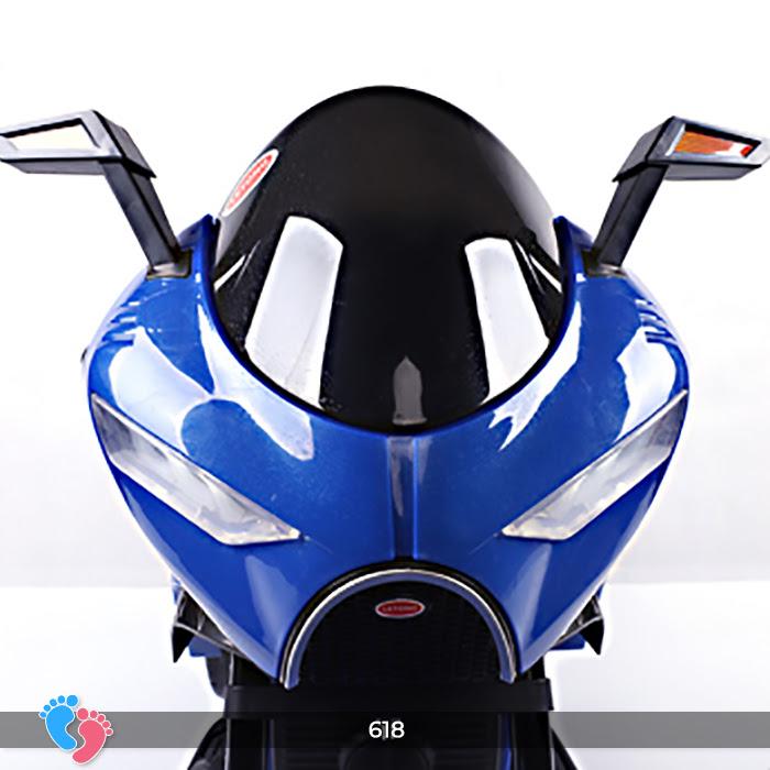 Xe mô tô điện cho bé điều khiển tay ga LT-618 16