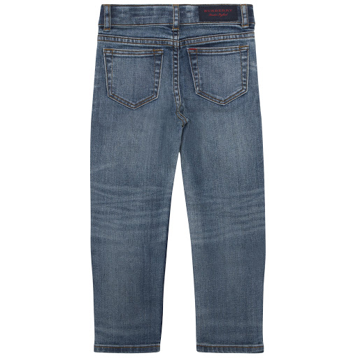 Thumbnail images of Burberry Blue Skinny Jeans