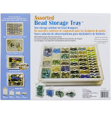 Elizabeth Wards Assorted Bead Tray 13.75X10.5X1.75