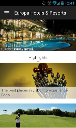 玩免費旅遊APP|下載Europa Hotels & Resorts app不用錢|硬是要APP