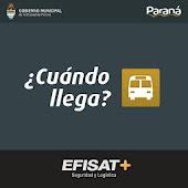 Cuando llega Paraná?