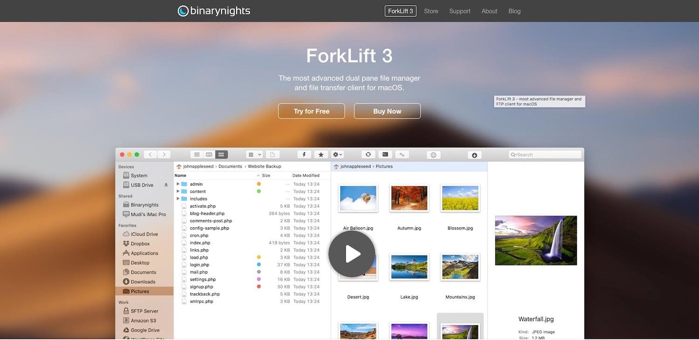 Khách hàng FTP tốt nhất: ForkLift