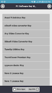 PC Software Key Manager - náhled
