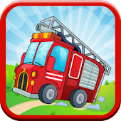 Fire Truck Kids Games - FREE!