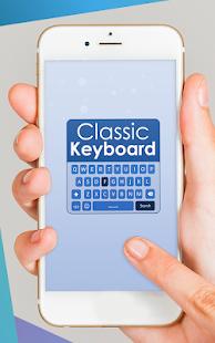 App Classic Big Keyboard - Word Prediction Keyboard APK for Windows Phone