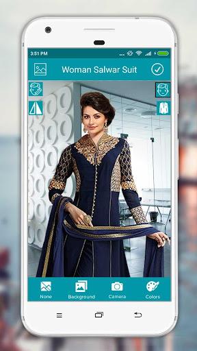 Women Salwar Suit Photo Editor screenshot 9