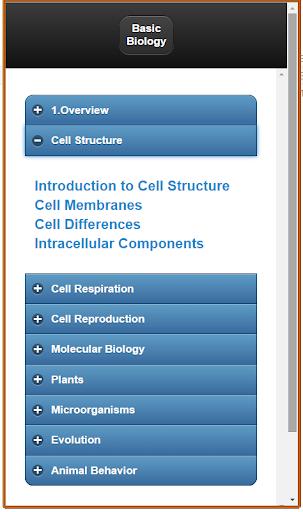 Basic Biology detailed