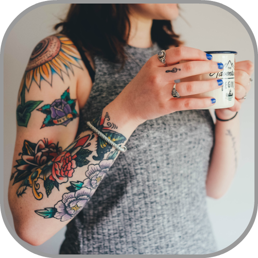 Tattoo Design: My Photo Editor Maker Apps Icon