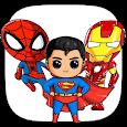 How to Draw Cute Superheroes Tutorial