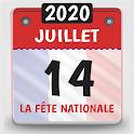 calendrier 2020 français avec jours fériés 2020 icon