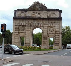 Photo: der Arc de Triomphe von Nancy