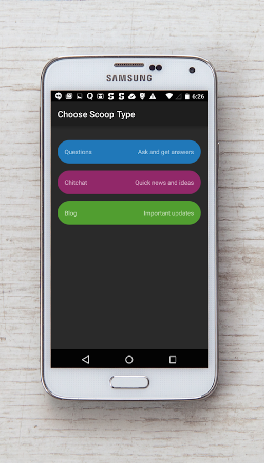 Scoop Mobile- screenshot