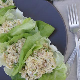 Cod Liver, Rice & Eggs Lettuce Wraps.