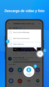 Descargar videos de Twitter – Guardar videos Tweet 2