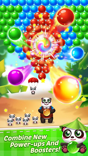 Télécharger Bubble Shooter 3 Panda APK MOD (Astuce) screenshots 1