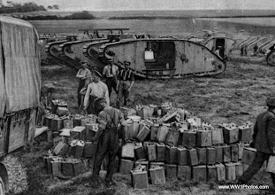 Photo: Tanks On The Western Front