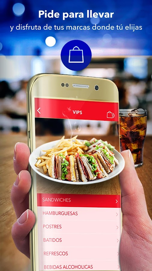 Club VIPS – Pedidos y Promos: captura de pantalla