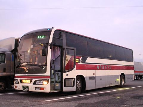 阪急バス「よさこい号」 05-2889 淡河PAにて その1