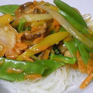 Ginger Garlic Vegetable Stir Fry