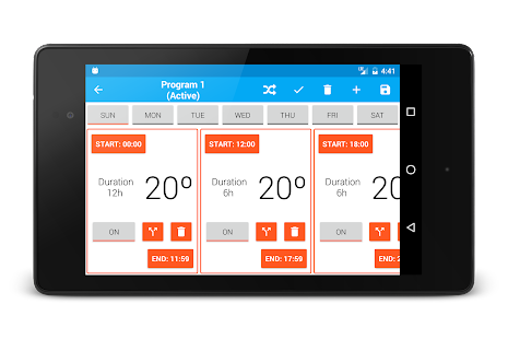Smart Thermostat for Arduino Yun- screenshot thumbnail